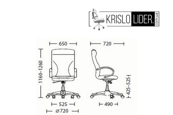 Крісло Riga ECO-30 - 4