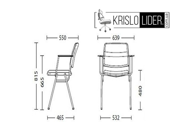 Крісло Isit black - 3