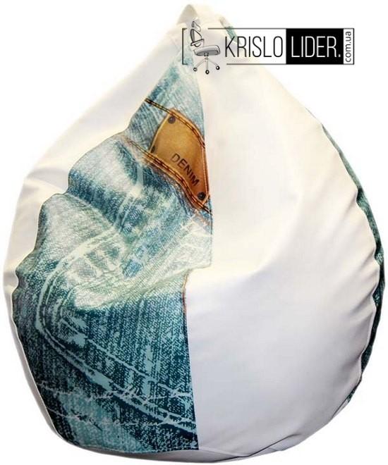 Крісло-груша Bubble з прінтом - 2