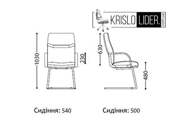 Крісло Minister extra CF LB - 3