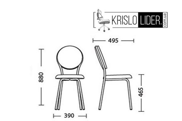 Крісло Fast-time chrome - 5