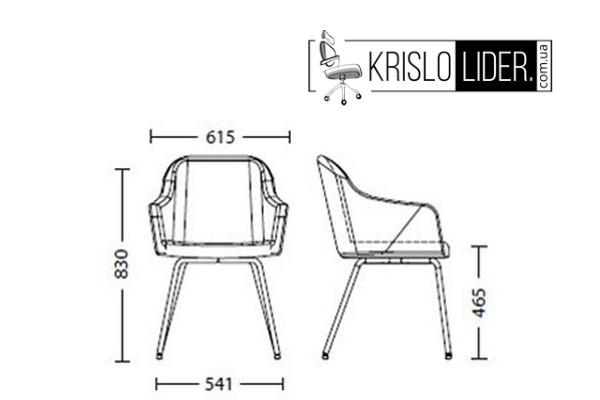 Крісло Wait 4L chrome - 3