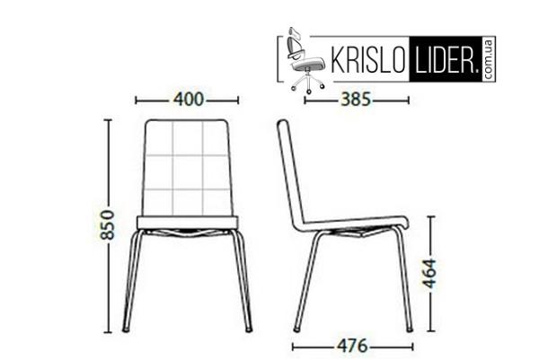 Крісло Sofi II chrome - 3
