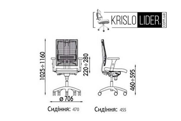 Крісло E-motion R HR  - 3