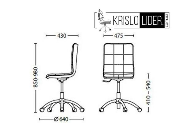 Крісло Malta GTS chrome - 4