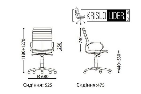 Крісло Galaxy wood chrome - 2